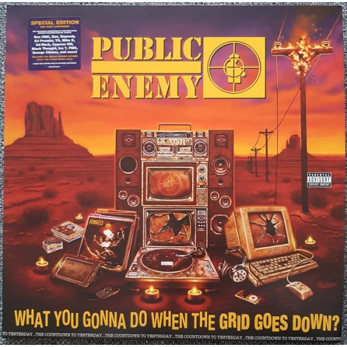 Public Enemy - What You Gonna Do When The Grid Goes Down?, LP