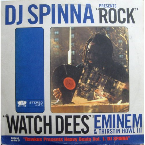 DJ Spinna - Rock / Watch Dees, 12""