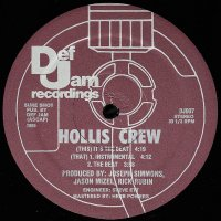 Hollis Crew - It's The Beat, 12""