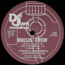 """Hollis Crew - It's The Beat, 12"""""""