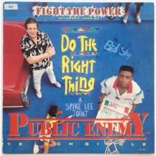 Public Enemy - Fight The Power (Extended Version), 12""