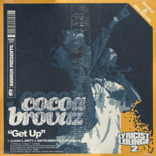 "Cocoa Brovaz / Royce Da 5'9"" - Get Up / Let's Grow, 12"""