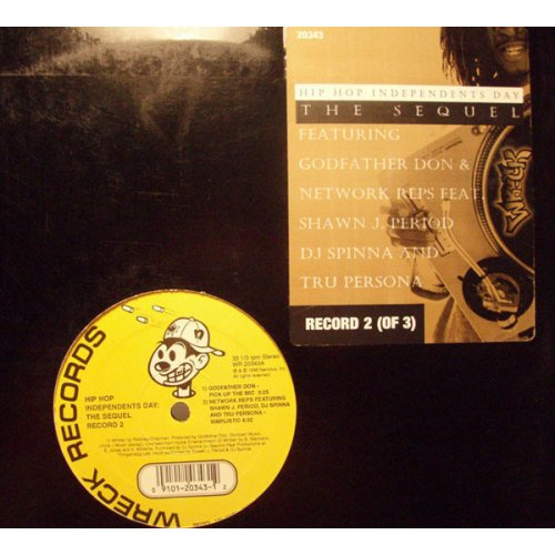 Various - Hip Hop Independents Day: The Sequel (Record 2), 12""