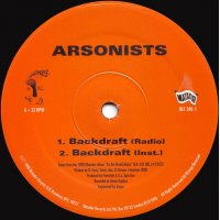 Arsonists - Backdraft / Halloween II - Season Of The Witch, 12""