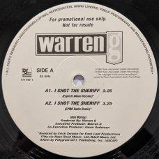 "Warren G - I Shot The Sheriff (EPMD Remixes), 12"", Promo"
