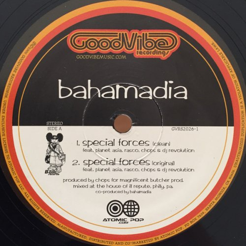 Bahamadia - Special Forces, 12""