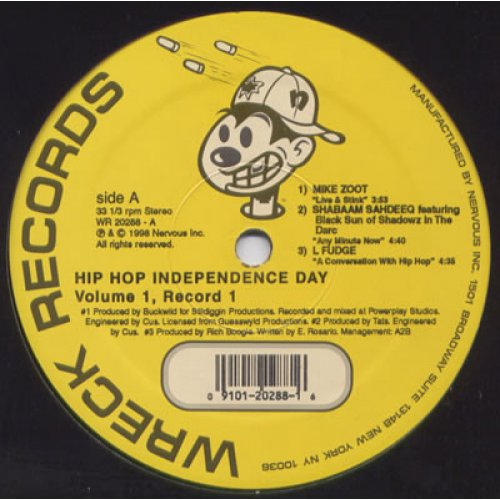 Various - Hip Hop Independents Day: Volume 1 (Record 1), 12""