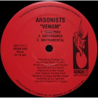 The Arsonists - Venom / Seed, 12""