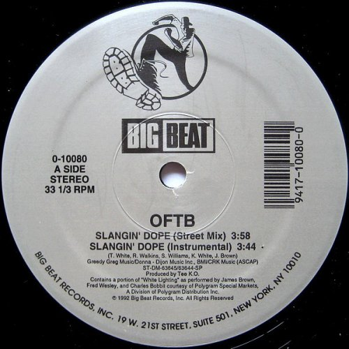 "OFTB - Slangin' Dope, 12"""