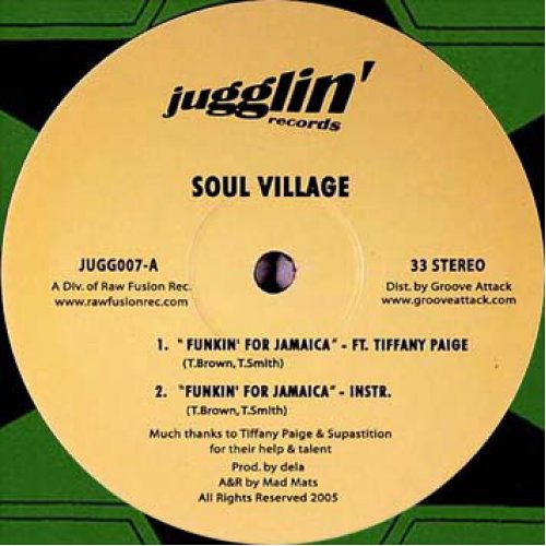 Soul Village - Funkin' For Jamaica / Hey Suckas!, 12""