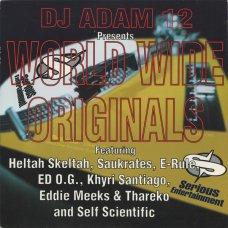 "DJ Adam 12 - World Wide Originals, 12"""