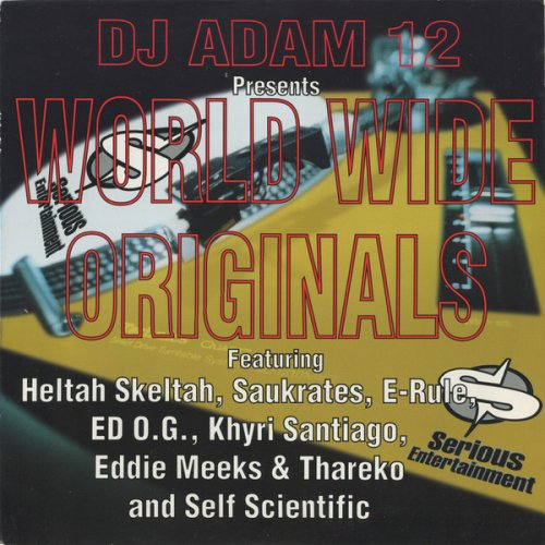 DJ Adam 12 - World Wide Originals, 12""