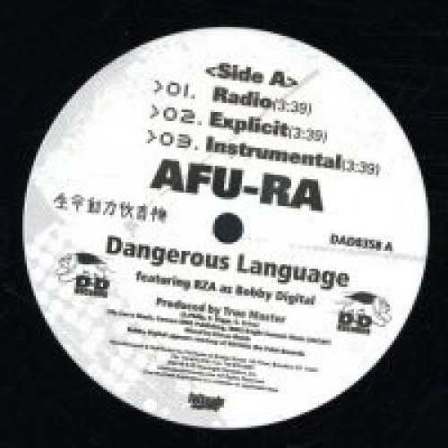 Afu-Ra - Dangerous Language / Whirlwind 2, 12""