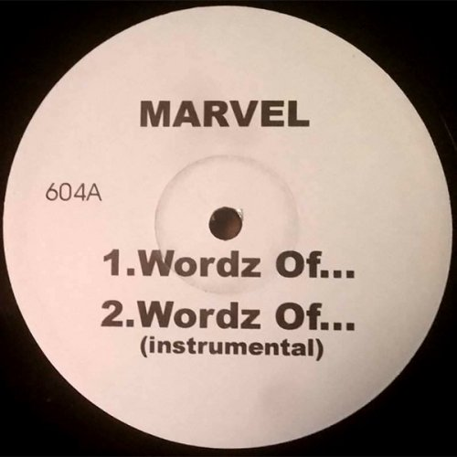 "Marvel / Saukrates - Wordz Of... / Kalifornia, 12"", Promo"