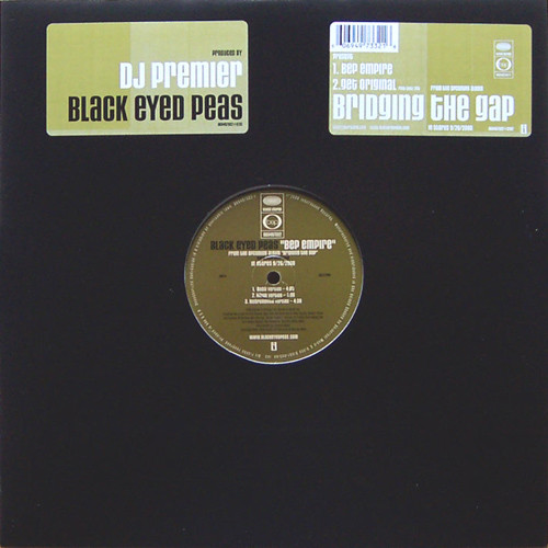 Black Eyed Peas - BEP Empire / Get Original, 12""