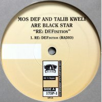 "Black Star - RE: DEFinition, 12"", Promo"