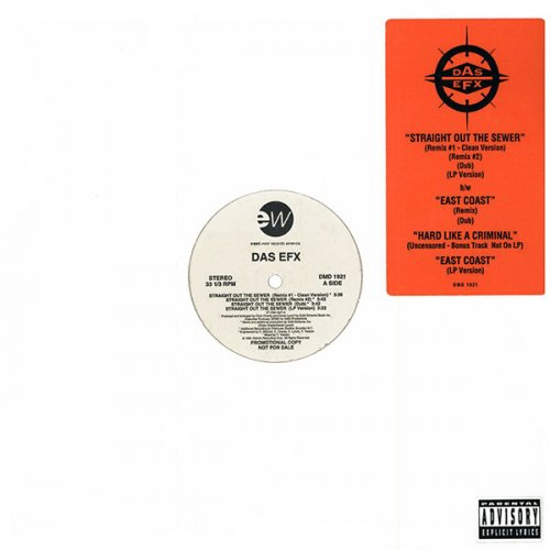 "Das EFX - Straight Out The Sewer, 12"", Promo"