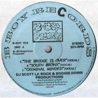 DJ Scott La Rock & Boogie Down Productions - The Bridge Is Over / South Bronx / Criminal Minded, 12""