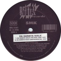 SMK - Gangsta Walk, 12""