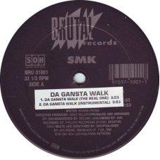 "SMK - Gangsta Walk, 12"""