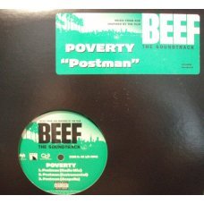 "Poverty / Ice Cube - Beef The Soundtrack, 12"", Promo"