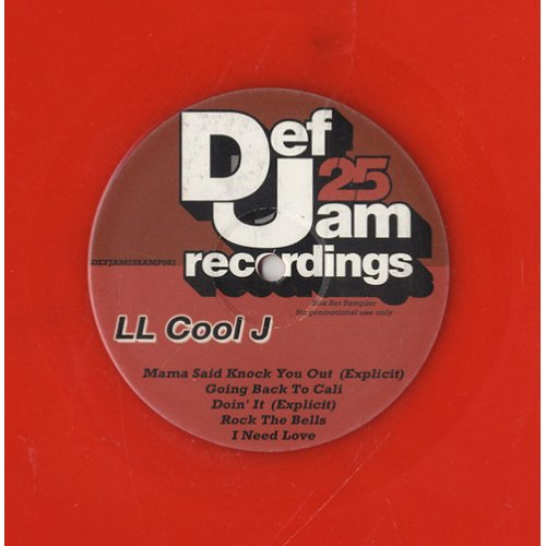 "LL Cool J - Untitled, 12"", Sampler, Promo"