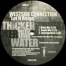 "Westside Connection - Let It Reign, 12"", Promo"
