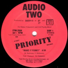 """Audio Two - Make It Funky, 12"""", Reissue"""