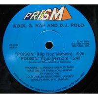 Kool G. Rap And D.J. Polo - Poison, 12""