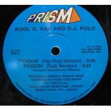 "Kool G. Rap And D.J. Polo - Poison, 12"""