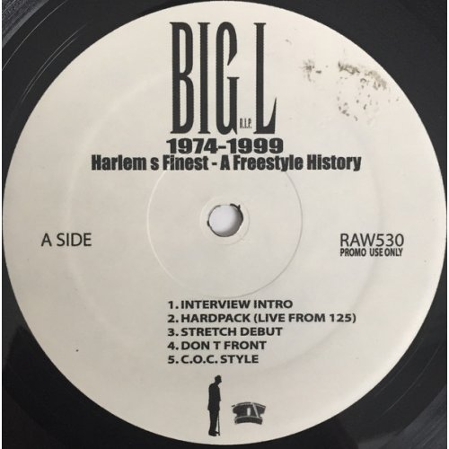 Big L - 1974-1999 Harlem's Finest - A Freestyle History, LP, Promo