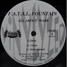 """F.A.T.A.L. Fountain - All About Wars, 12"""""""