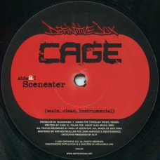"""Cage - Scenester / Left It To Us, 12"""""""