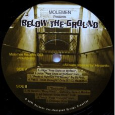 "Molemen - Below The Ground, 12"""