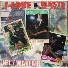"J-Love & Masta Ace - NFL / Warfare, 12"""