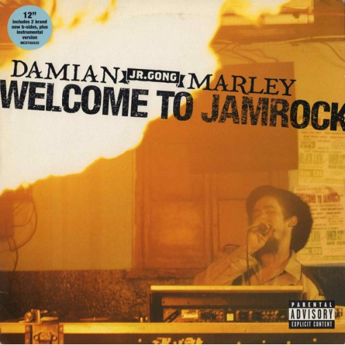"Damian ""Jr. Gong"" Marley - Welcome To Jamrock, 12"""