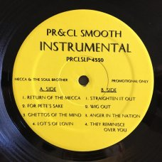 Pete Rock & CL Smooth - Mecca & The Soul Brother Instrumental, 2xLP, Reissue
