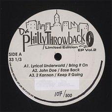 "Various - Da Philly Throwback EP Vol.2, 12"", EP"
