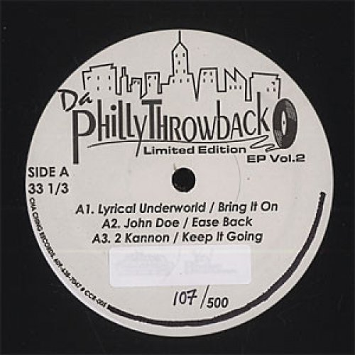 "Various - Da Philly Throwback EP Vol.2, 12"", EP"