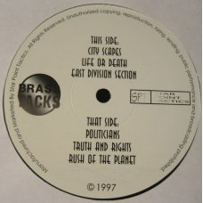 "Brass Tacks - Star Point Tactics, 12"", EP, Reissue"