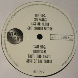 "Brass Tacks - Star Point Tactics, 12"", EP, Reissue"