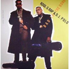 "Kool G Rap & D.J. Polo - Bad To The Bone, 12"", Reissue"