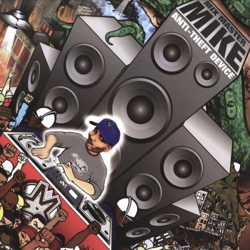 Mix Master Mike - Anti-Theft Device, 2xLP