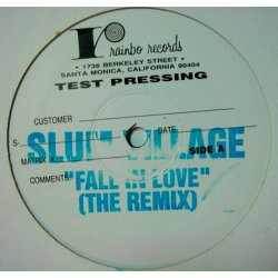 "Slum Village - Fall In Love (The Remix), 12"", Test Pressing"