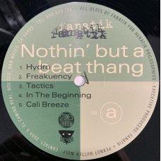 Fanatik - Nothin But A Beat Thang, LP