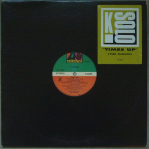 K-Solo - Time's Up, LP, Promo
