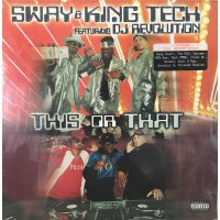 Sway & King Tech featuring DJ Revolution - This Or That, 2xLP