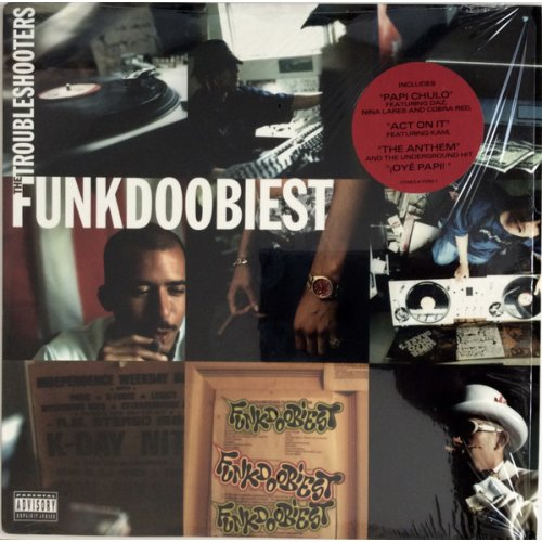 Funkdoobiest - The Troubleshooters, 2xLP