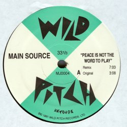 "Main Source - Peace Is Not The Word To Play, 12"", Reissue"