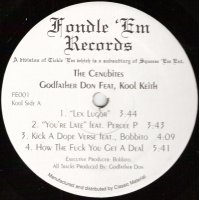 "The Cenubites (Godfather Don Feat Kool Keith) - The Cenubites, 12"", EP, Repress"